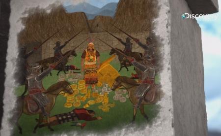 印加黃金城真實出現在世界上? 用純金打造的太陽神殿、玉米田   500年前卻一夕瓦解消失? Discovery《層層透視古建築》動畫模擬黃金城原貌 試圖揭開印加帝國滅亡的真相