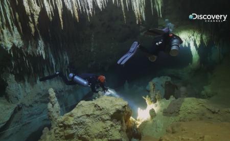 被遺忘的世界奇景 – 墨西哥水底洞穴「薩塔利特」 凶狠鱷魚群當守門員、水下能見度近乎0!至今仍無人能攻略? 《史提夫探險任務》冒死潛入勘查