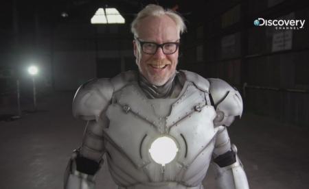 鋼鐵人現實生活中真的「復活」了…!? 漫威獨家授權設計圖 用3D列印拼250片鈦金屬組「鋼鐵衣」  外觀、功能相似度100%!不僅防彈、防炸 還可一飛衝天 Discovery頻道《亞當的超狂工作室》展現超狂工業實力